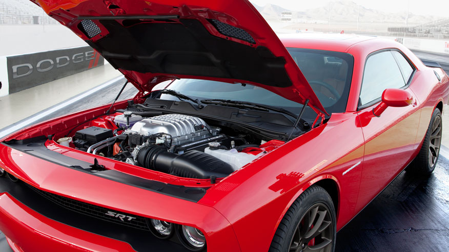 2015 Dodge Hellcat 707 horse power engine