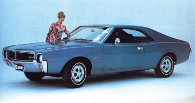 1968 AMC Javelin-Top 5 Dead American Automakers