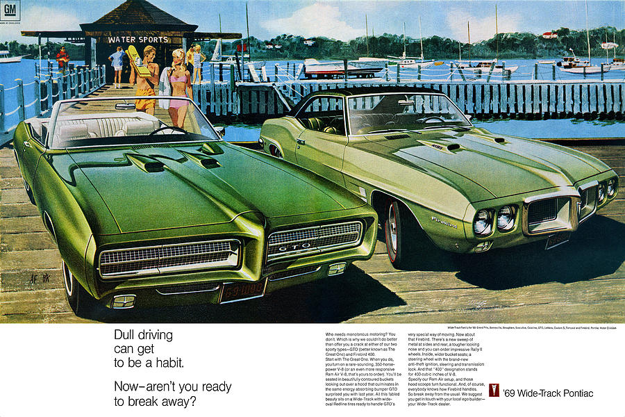 1969 pontiac gto and firebird digital repro