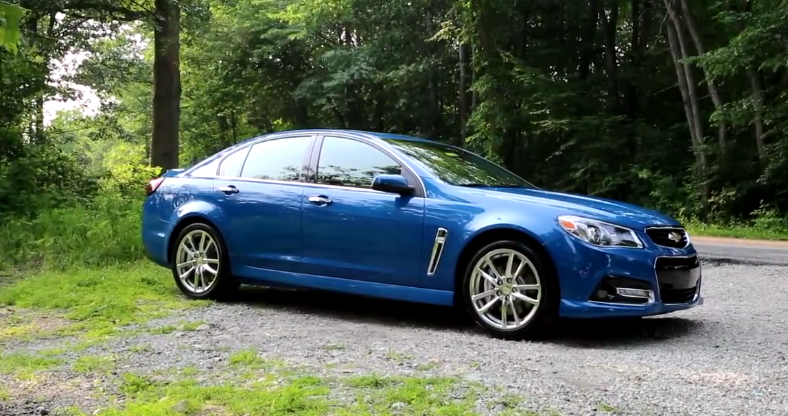 Pontiac G8, Holden Commodore, Chevy SS
