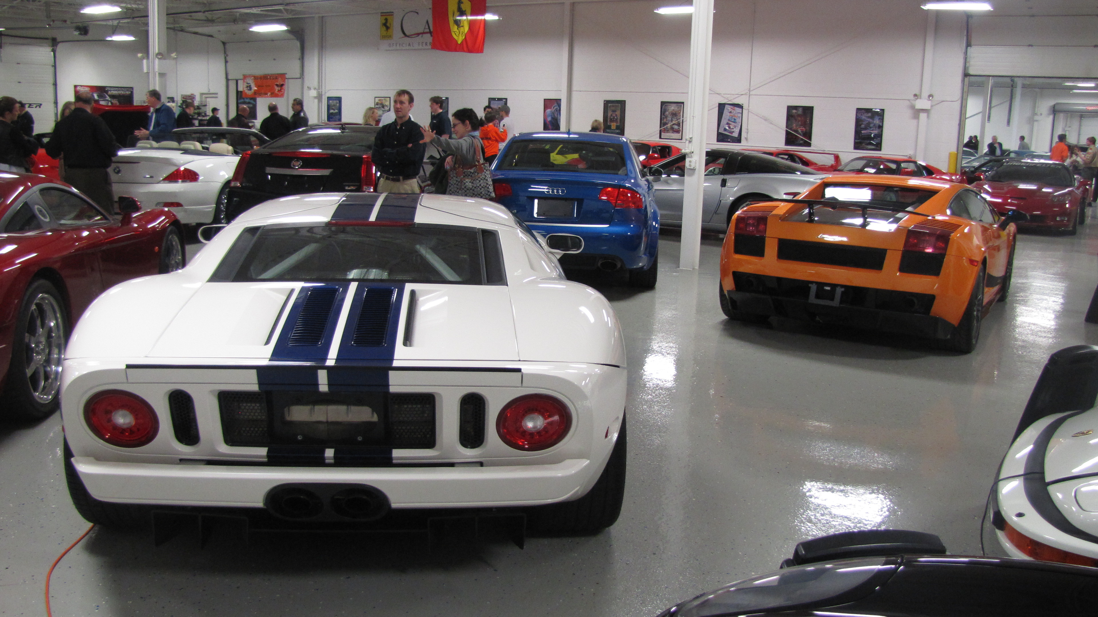 Over 150 Rare Muscle Cars, Classics and Exotic Cars.