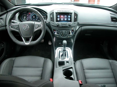 2015 Buick Regal GS AWD Turbo Review interior