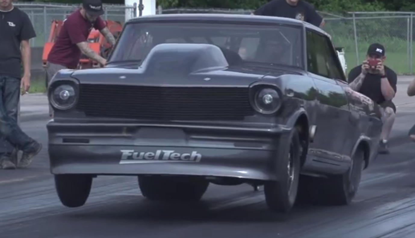 Daddy Dave Reveals All New Nitrous Feed 1963 Nova