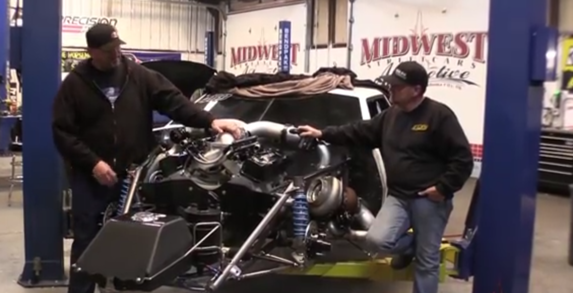 Street Outlaws Big Chief talks about his progress made on the new Crow Mod