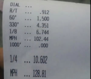 Tune/Tires/150 shot 2016 Camaro 10 Second 1/4 mile
