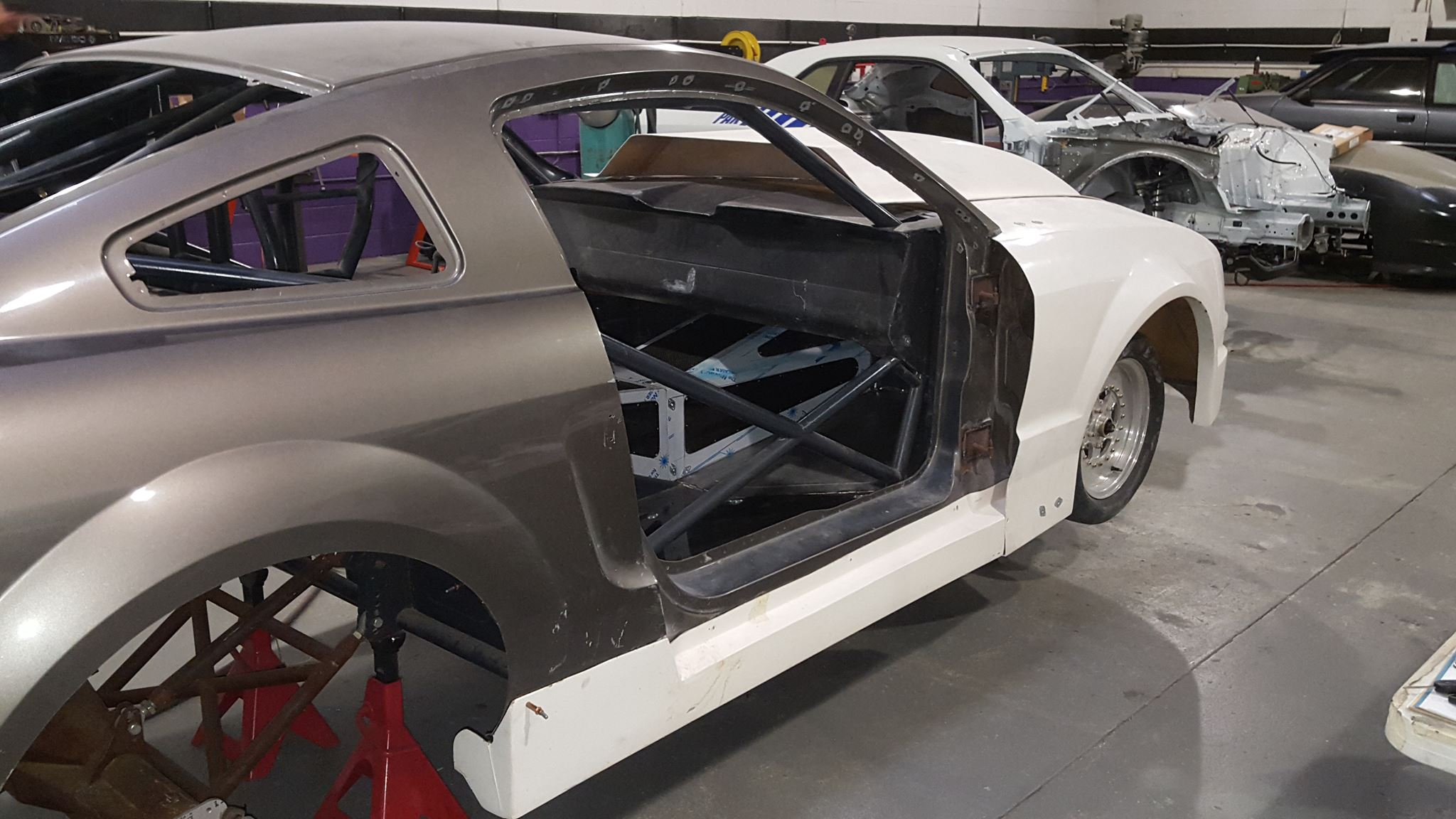 street outlaws boostedgt 39 s building a new car epic speed. Black Bedroom Furniture Sets. Home Design Ideas