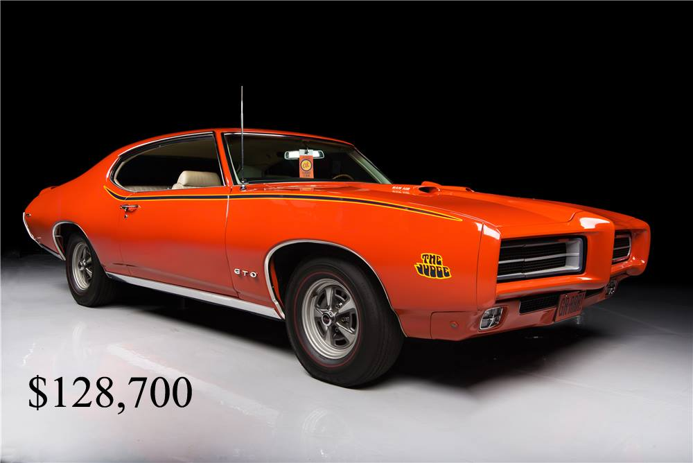 Steering Wheel Restoration >> GTO's bring BIG BUCKS at Barrett-Jackson | Epic Speed