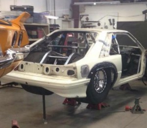 Chuck's Mustang The Death Trap Getting Big Tires – Epic Speed