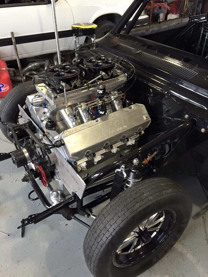 Street Outlaws Daddy Dave going to upgrade Goliath's engine to something 870ci or bigger!