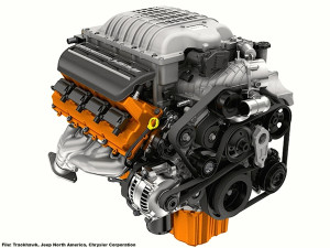 2017 Jeep Grand Cherokee Hellcat Engine