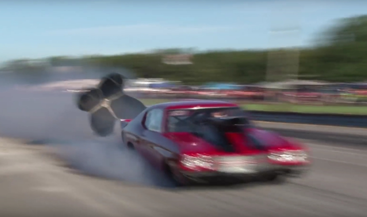 Tires Blow Out @ 150MPH while Racing