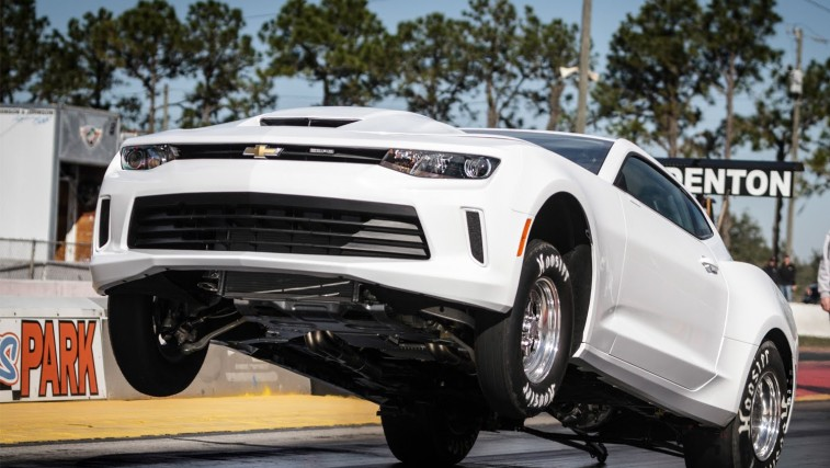 Gm Runs 8s 1 4 Mile Testing All New 2016 Copo Camaro