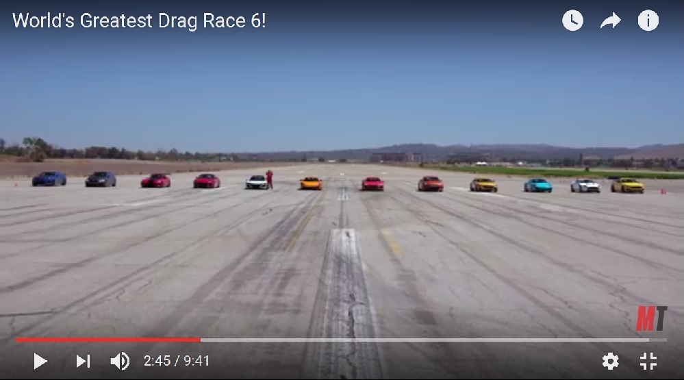 Motor Trend 2016 Worlds Greatest Race