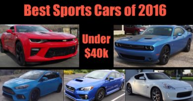 Best Sports Cars of 2016 Under 40K