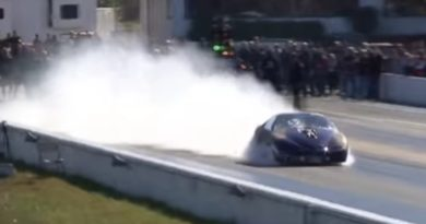 Birdman Racing Blows Up Motor