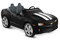 Kid Motorz 12-Volt Two Seater Racing Black Camaro