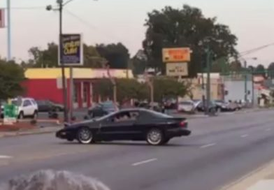 Female Driver Hit and Run Caught on Tape!