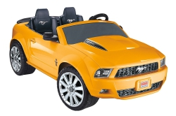 Fisher-Price Power Wheels Yellow Ford Mustang [Amazon Exclusive]