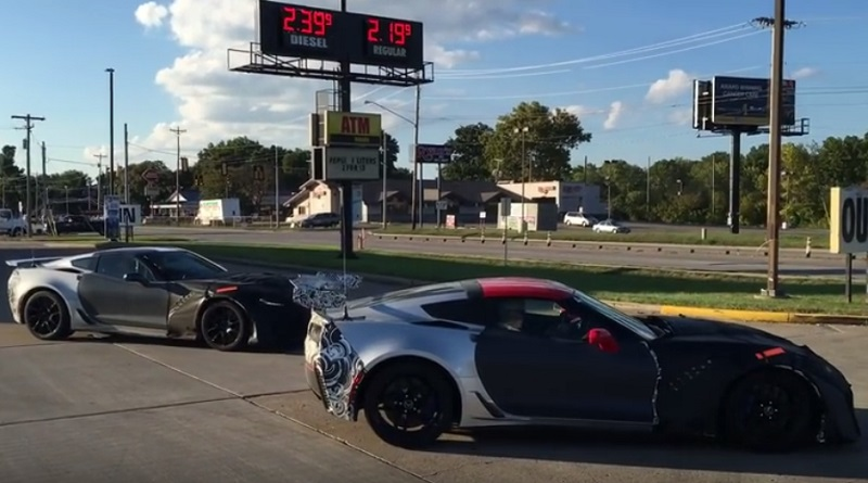 Corvette ZR1 Prototypes Caught on Video
