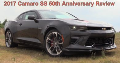 Review of 2017 Chevrolet Camaro SS