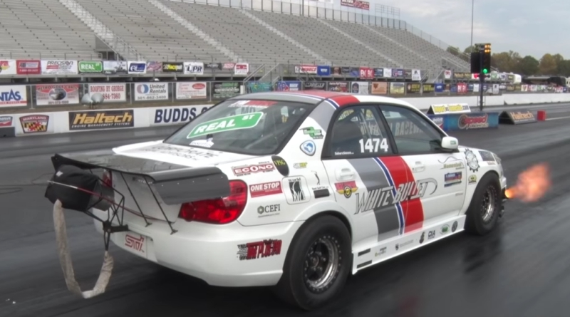 Fastest 1/4 Mile 6 Speed Subaru In The World!