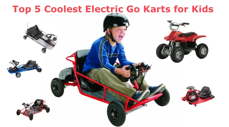 Top 5 Best Electric Go Karts For Kids