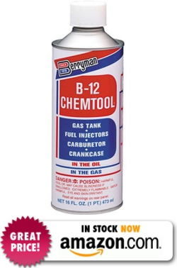 Berryman 0116 B-12 Chemtool Carburetor/Fuel Treatment and Injector Cleaner