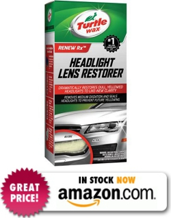 Turtle Wax T-240KT Headlight Lens Restorer Kit Review