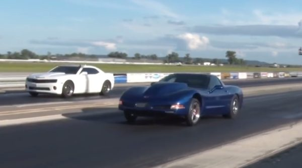 C5 Supercharged still with IRS running 5 seconds 1/8 Mile