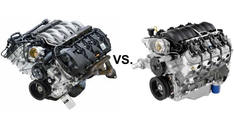 Ford Coyote vs. GM LS3 with $10k In Mods