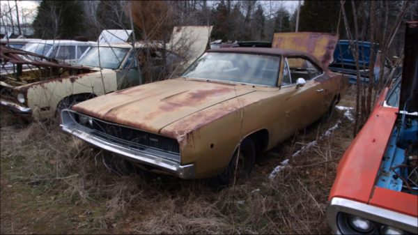 World's Largest Mopar Junkyard That'll Make You Cry!