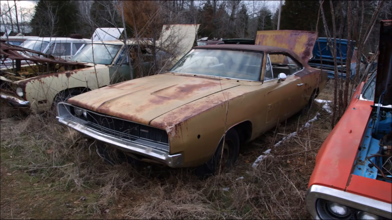 World\'s Largest Mopar Junkyard That\'ll Make You Cry! | Epic Speed