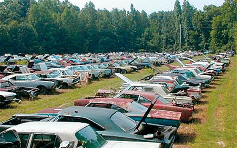 Largest Mopar Junkyard on the Planet!