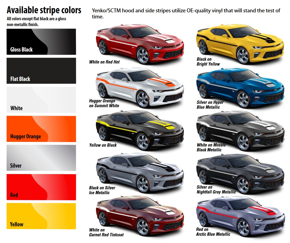 Camaro Colors 28 Images 2016 Chevrolet Camaro Colors