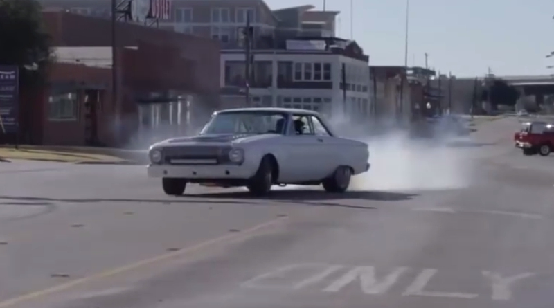 Aaron kaufman ford falcon valentines day police chase epic speed