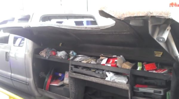 The Ultimate Toolbox Inside Pickup Truck Bed!