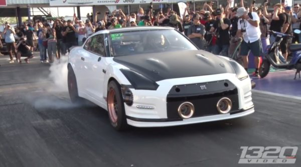 First 6 Second 1/4 Mile Nissan GTR on the PLANET!
