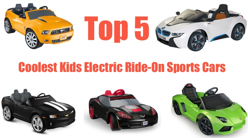Top 5 Coolest Ride On Electric Sports Cars For Kids Epic Speed